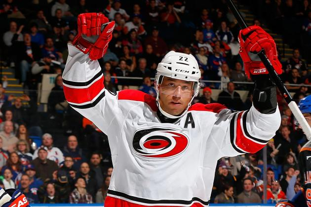 Center Depth Emerging for Carolina Hurricanes in Eric Staal, Riley Nash Absences