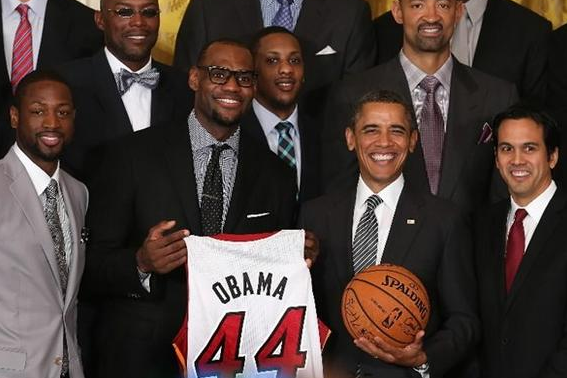 Heat to Be Honored Tuesday by Obama at White House