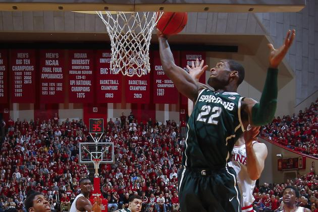 Michigan State Basketball: What to Make of Branden Dawson's Up-and-Down Season