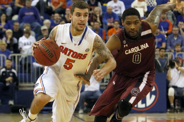Scottie Wilbekin Injures Ankle During Gators 74-58 Against South Carolina
