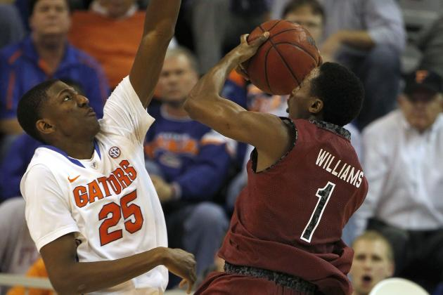 No. 10 Florida Beats South Carolina 74-58
