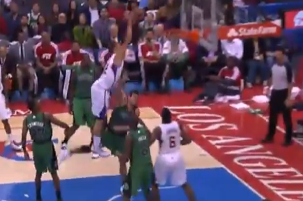 Blake Griffin Puts Throwdown in Throwdown Dunk