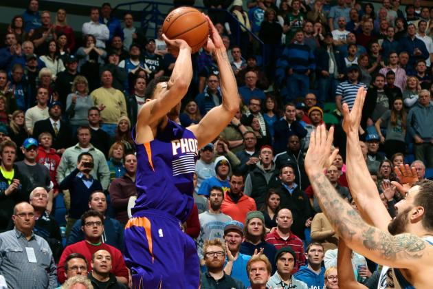 Gerald Green Hits Game-Winner to Cap Phoenix Suns' Game-Ending 7-0 Run