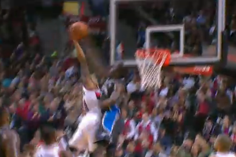 Victor Oladipo Makes Incredible Block of Damian Lillard Fast-Break Dunk