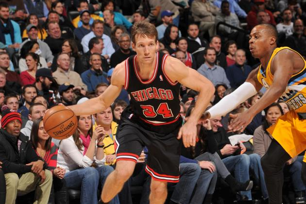 Houston Rockets Reportedly Want Chicago Bulls' Mike Dunleavy