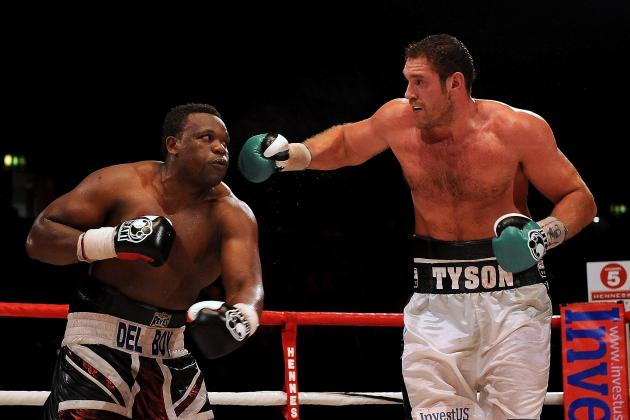Tyson Fury, Dereck Chisora Set to Fight in Football Stadium, Says Frank Warren