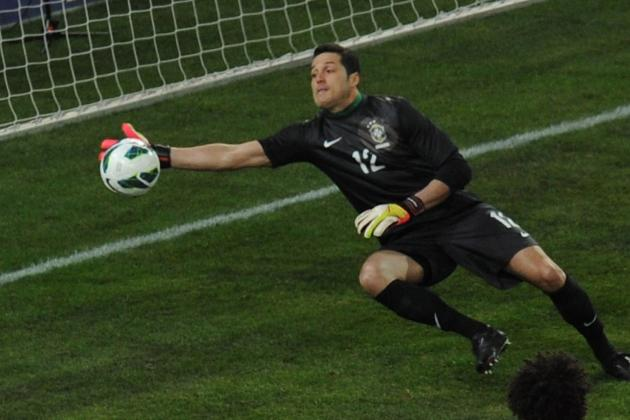 Can Julio Cesar Be Brazil's World Cup No. 1 After Spending a Year on the Bench?