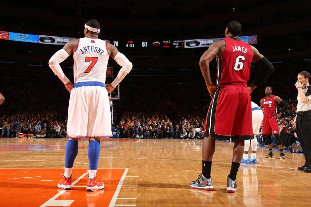Carmelo Anthony, LeBron James Set to Add Next Chapter in Rivalry