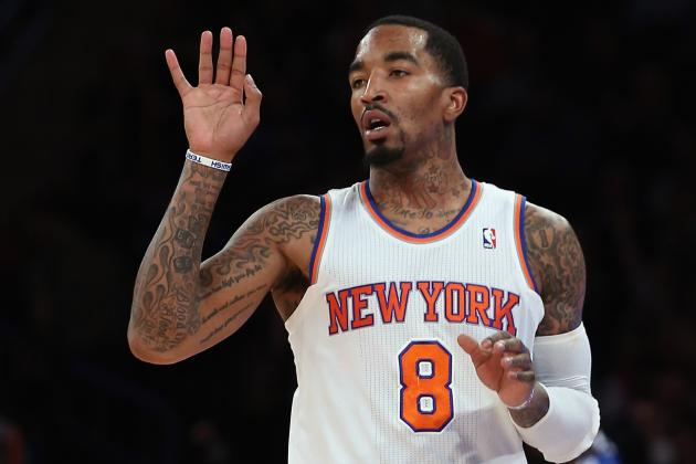 New York Knicks Would Be Admitting Massive Mistake with J.R. Smith Trade