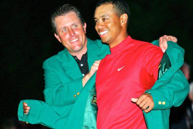 Tiger Woods, Rory McIlroy and Phil Mickelson Open as Favorites for 2014 Masters