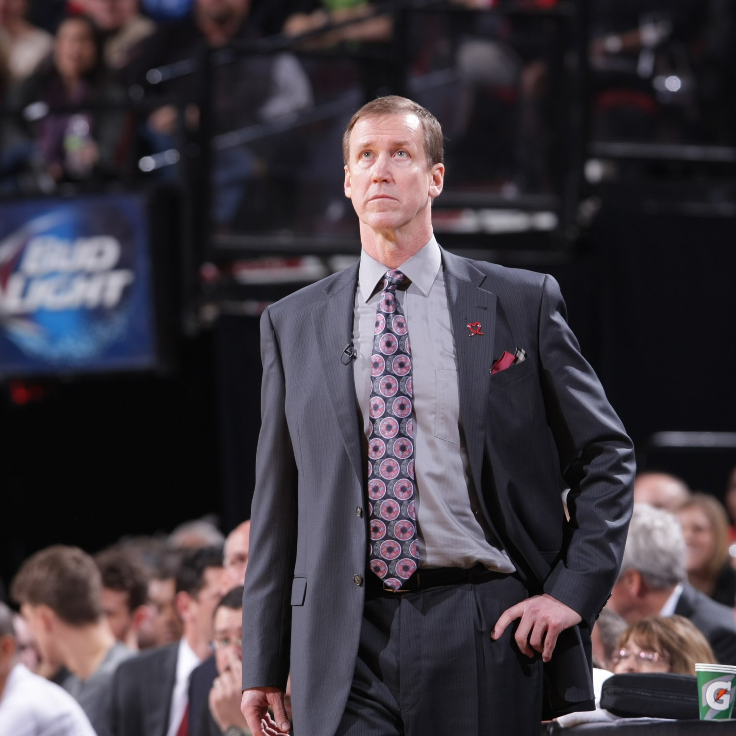 Portland Trail Blazers Roster 2014: Portland Trail Blazers Coach Terry Stotts Curses Out Team