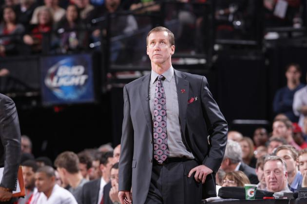 Portland Trail Blazers Coach Terry Stotts Curses out Team at Halftime vs. Magic