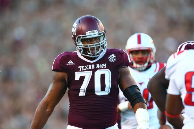 Texas A&M OT Cedric Ogbuehi Tweets He Will Return to Aggies in 2014