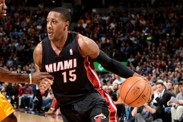 Chalmers, Battier out for Heat Against Knicks