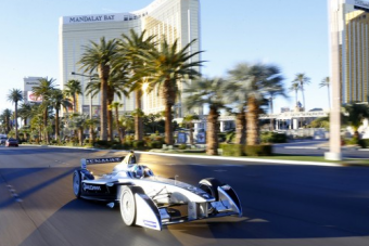 Video: Formula E Takes over the Las Vegas Strip