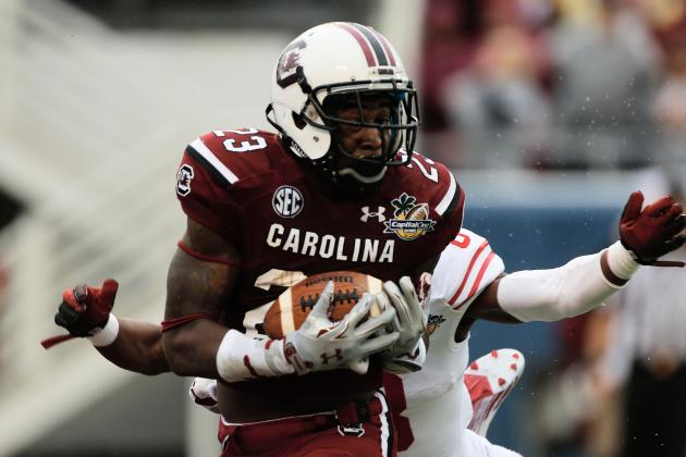 South Carolina Football: Bruce Ellington's Head Finally Overrules His Heart