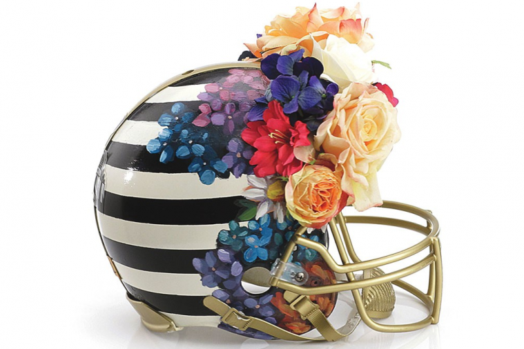 Bloomingdale's and CFDA Create 'Haute Couture' Football Helmets for Charity