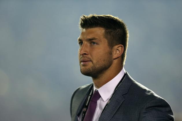 Tim Tebow's Undeniable Star Quality Makes Him a Natural as an Analyst