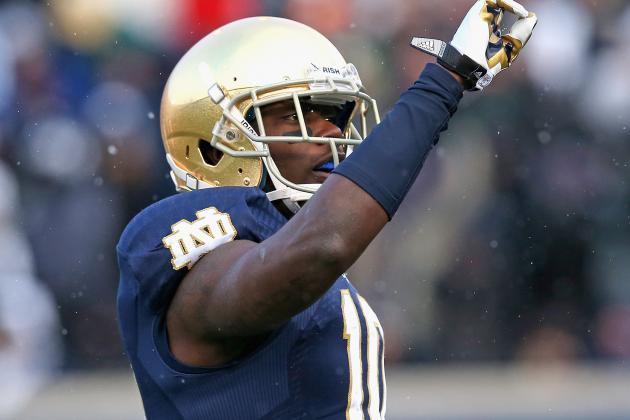 DaVaris Daniels Suspended from Notre Dame