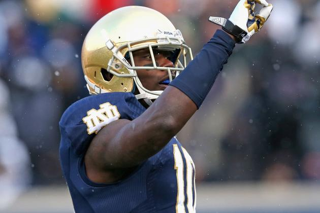 Irish to Suspend WR Daniels for Semester