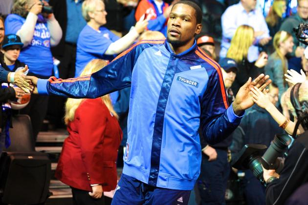 Kevin Durant's Superstar Act Can't Fill OKC Thunder's Russell Westbrook Void