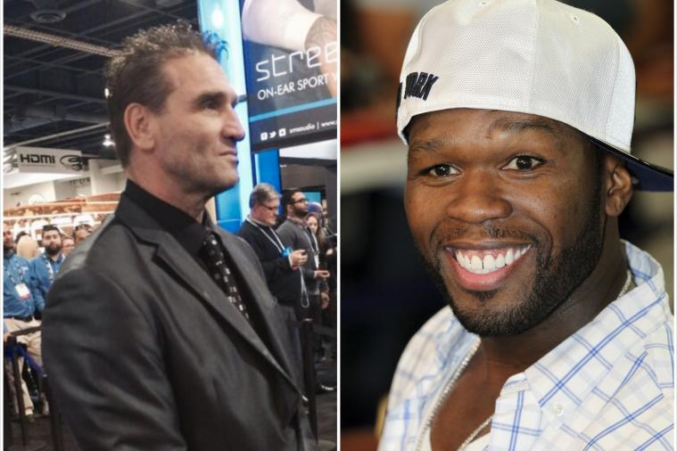 UFC Hall of Famer Ken Shamrock Is Now a Bodyguard for 50 Cent