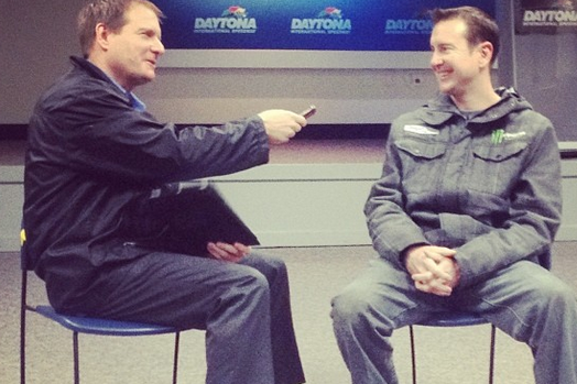 Instagram: Busch Talks Stewart-Haas Racing