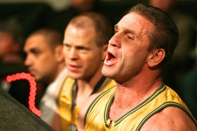 UFC Hall of Famer Ken Shamrock Working as Bodyguard for Rapper 50 Cent