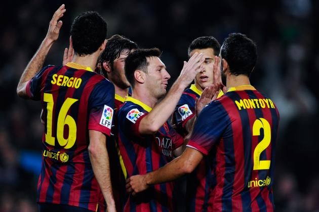 FC Barcelona: How Barcelona Will Line Up Against Atletico Madrid