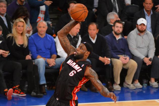 LeBron James Throws Down on NY Knicks