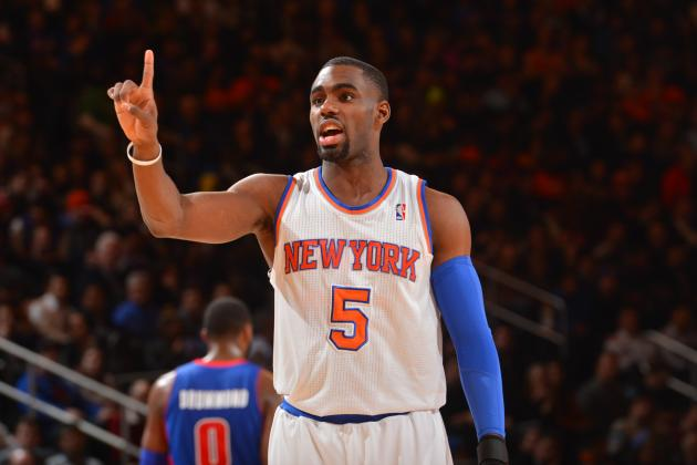 Tim Hardaway Jr. Slams Putback Dunk over Ray Allen