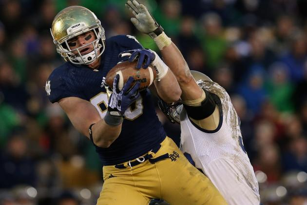 Notre Dame Tight End Troy Niklas Declares for 2014 NFL Draft