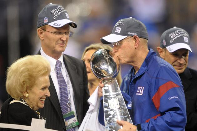 Giants Owner John Mara Is Firmly Behind Coach Tom Coughlin