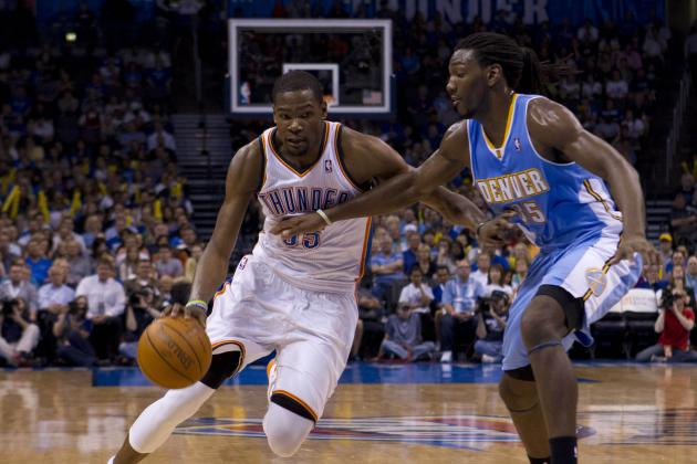 Kevin Durant Breaks Kenneth Faried's Ankles