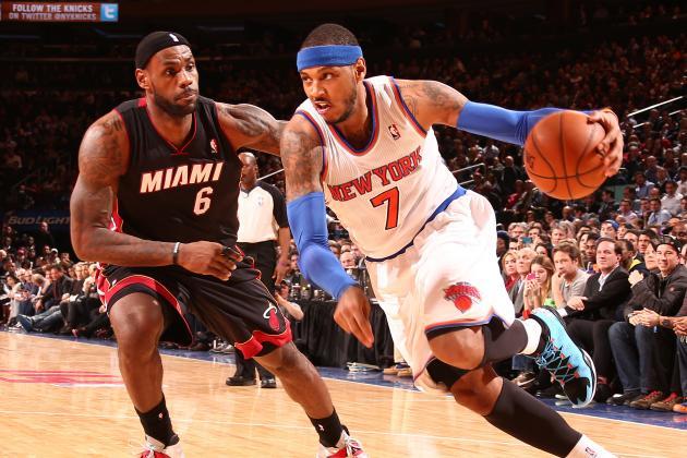 Knicks Win 3rd Straight, Upset Heat 102-92