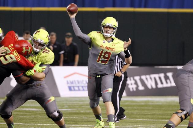 Michigan Football: Examining Wilton Speight's Play at the UA All-American Game