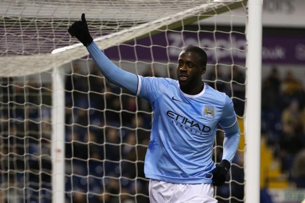 Yaya Toure Beats Didier Drogba, John Obi Mikel to African Footballer of the Year