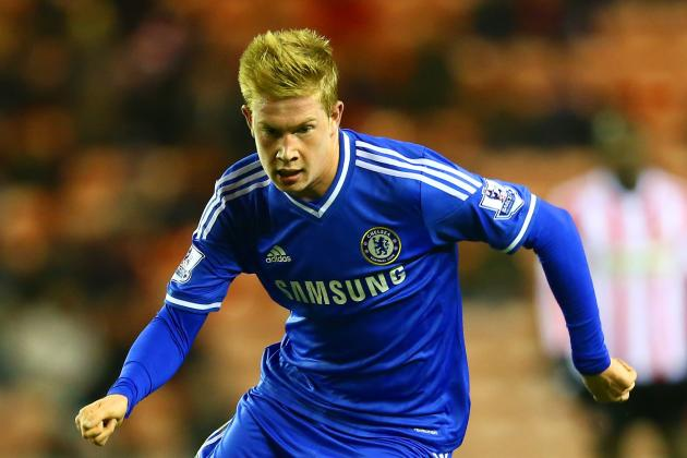 Chelsea Transfer News: Kevin de Bruyne on Verge of Wolfsburg Deal