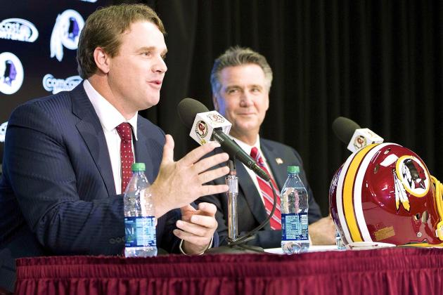 Success of Jay Gruden, RGIII Pairing Falls Heavily on the Shoulders of GM Allen