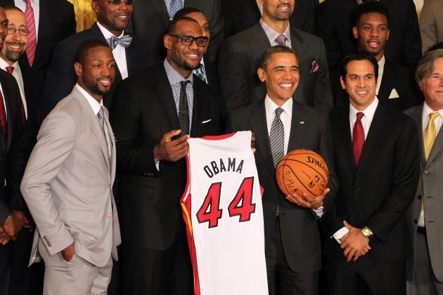 Ray Allen's Rare Triple: Another White House Trip, Another President