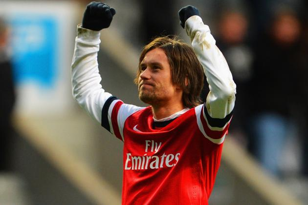 Arsenal Transfer News: Keeping Tomas Rosicky Is Key for Title-Hopeful Gunners