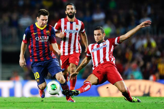 Atletico Madrid vs. Barcelona: Simulating La Liga Tie Using FIFA 14 on Xbox One