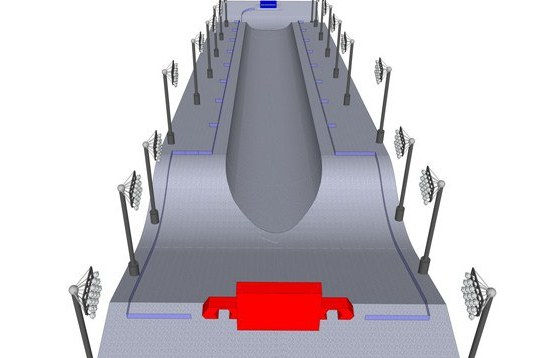 Photo: Sochi Olympic Halfpipe Diagrams Released