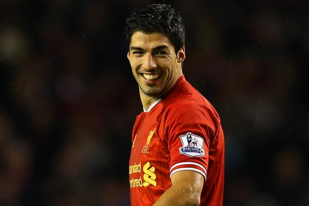 Luis Suarez Named Barclays Premier League Player of the Month for December