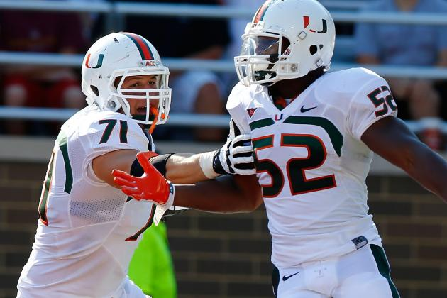 Miami Football: Denzel Perryman & Anthony Chickillo Right to Wait on Jump to NFL