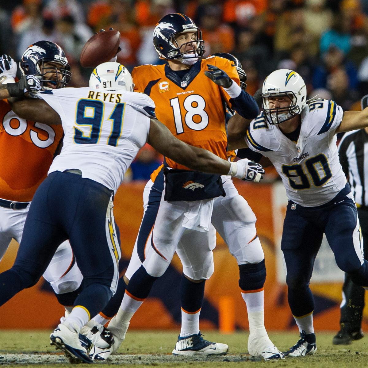 Denver To Hawaii: Chargers Vs. Broncos: Denver's Biggest Weaknesses For San