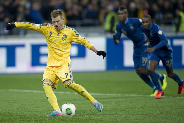 Liverpool Transfer Rumours: Andriy Yarmolenko Is Wrong Man for Reds to Target