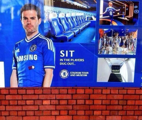 Juan Mata Featured in Unfortunate Advertisement