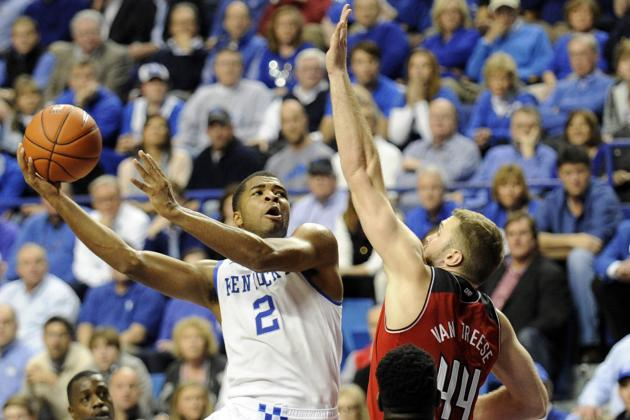 Kentucky Basketball: Breaking Down Aaron Harrison's Toughest SEC Matchups