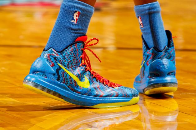 Denver Nuggets Are Wearing Rivals' Shoes, Brian Shaw Not a Fan